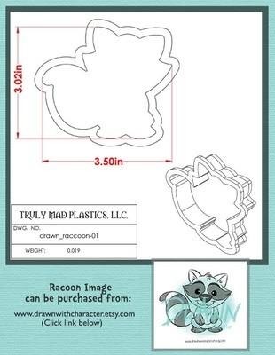 Drawn Raccoon 01