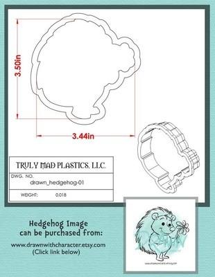 Drawn Hedgehog 01