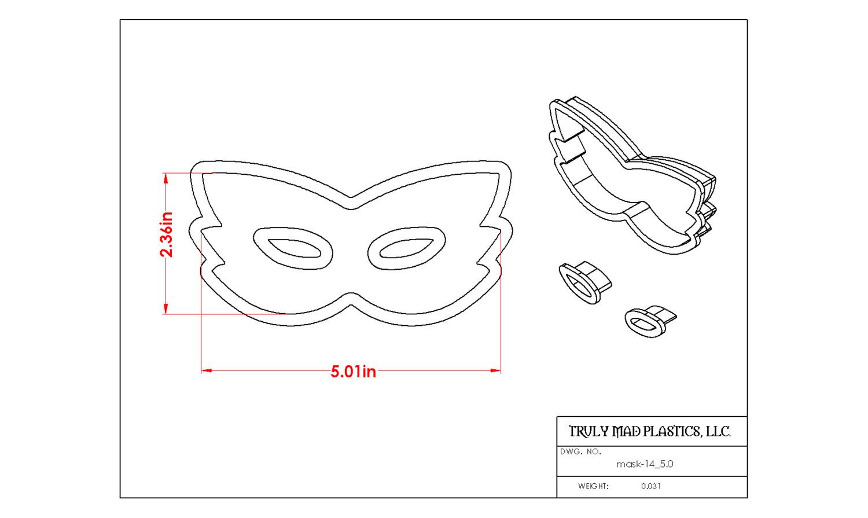 "Mask 14 (5.0"")"