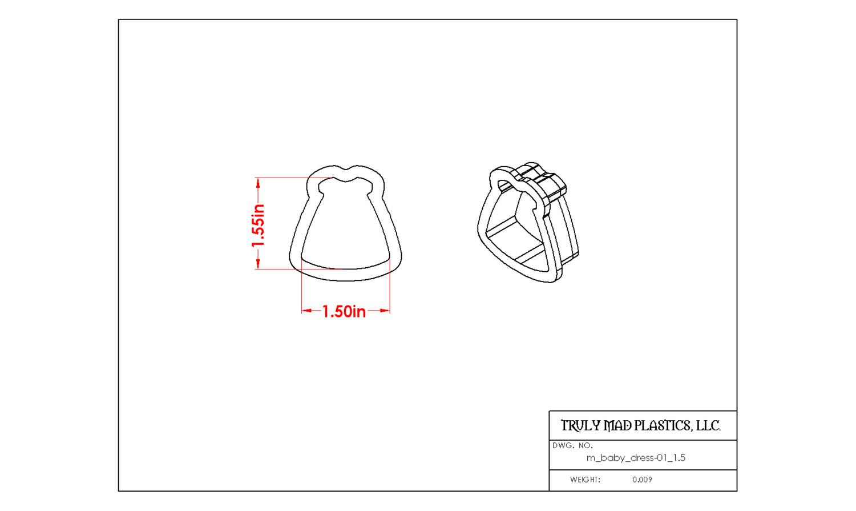 "Mini Baby Dress 01 (1.5"")"