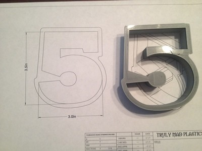 "5 Block 3.5"""