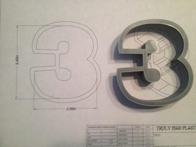 "3 Block 3.5"""