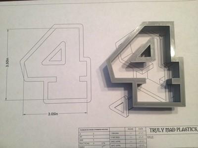 "4 Block 3.5"""
