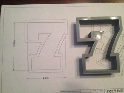 "7 Block 3.5"""