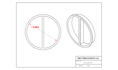 "Circle Split (4.0"")"