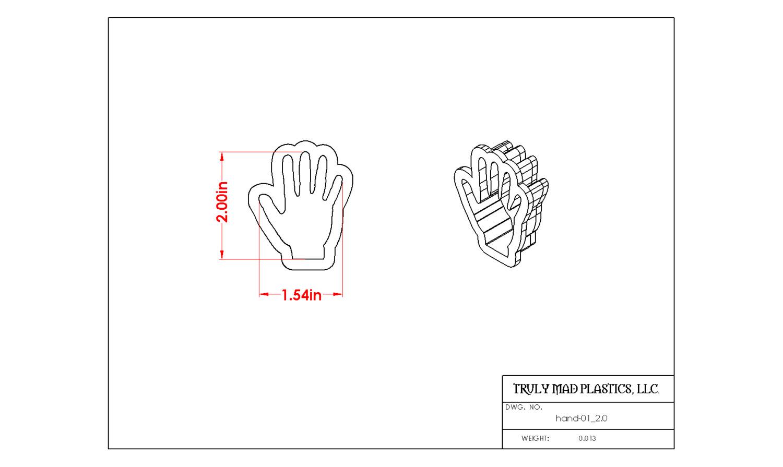 """Hand 01 2.0"""""""