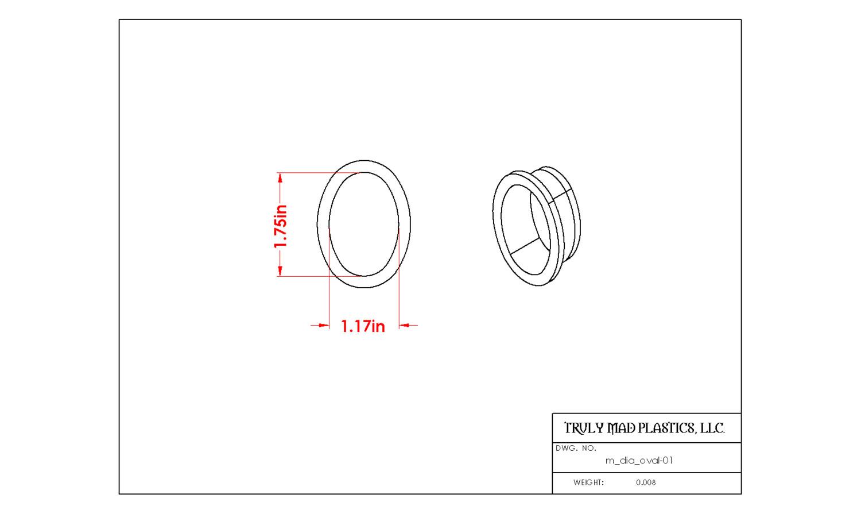 Mini Oval 01 (m dia oval)