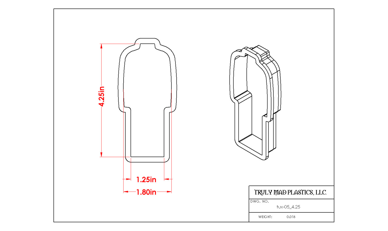 """Tux 05 4.25"""" (Lab Coat, Suit)"""