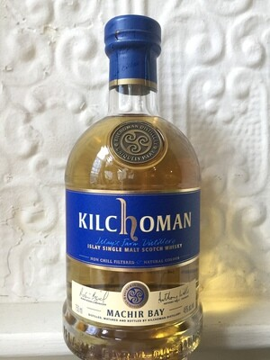 Kilchoman Distillery, Machir Bay Islay Single Malt Scotch Whisky