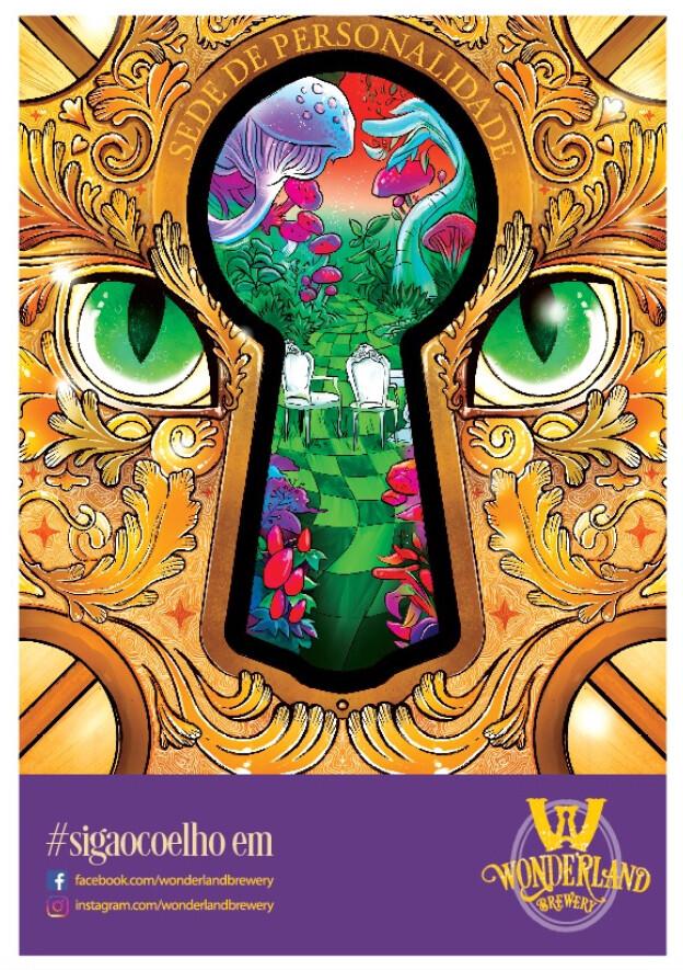 """Poster """"Sede de Personalidade"""", tamanho A3 (29,7 x 42,0 cm) 300g/m2"""