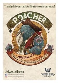"""Poster """"Poacher"""", tamanho A3 (29,7 x 42,0 cm) 300g/m2"""