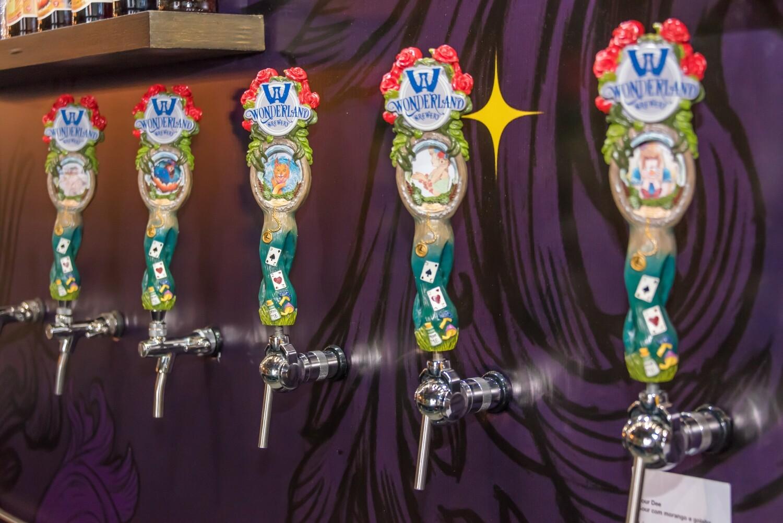 "Tap Handle ""Wonderland Brewery"""