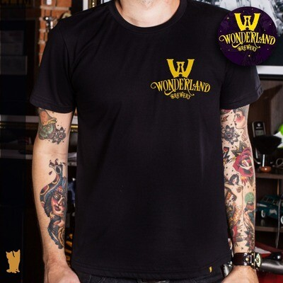 Camisa masculina Wonderland