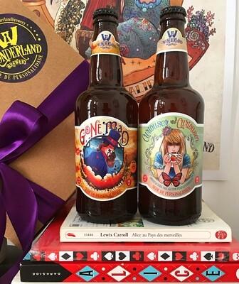 Kit de presente com 2 garrafas
