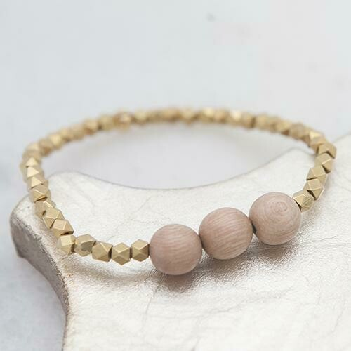 Stone+Stick Essentials Stretch Bracelet, 4mm-3 Options