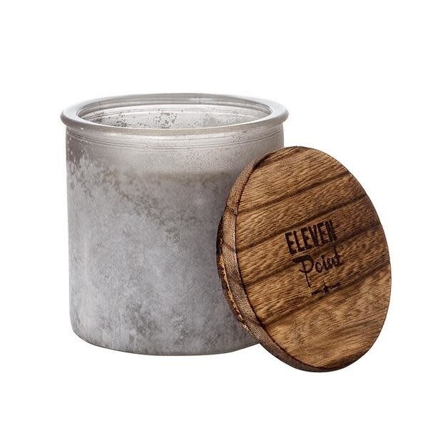 Eleven Point Candle-River Rock Gray-Compass