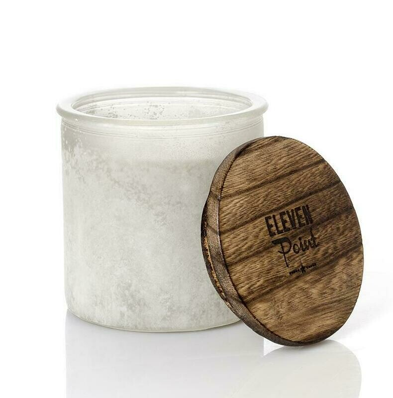 Eleven Point Candle-River Rock White-Wildflower