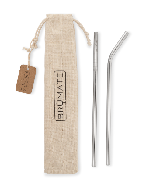 BruMate Stainless Steel Straw Imp Pint