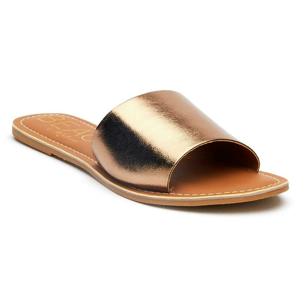 Beach Cabana Bronze/Leather Sandal
