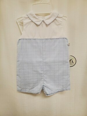 Petit Ami [2877] Blue and White Shortall