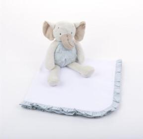 MSC Ruffle Blanket