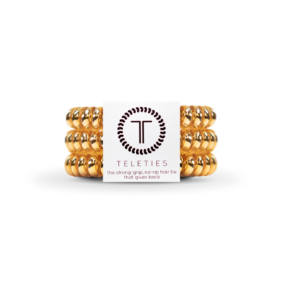 TELETIES Champagne Gold Small