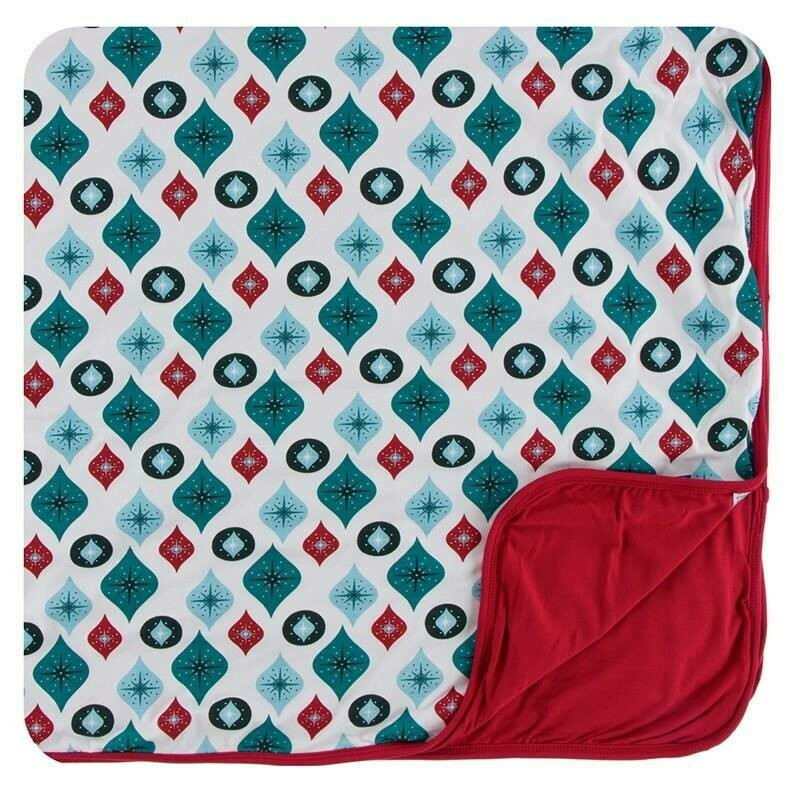 Kickee Pants Toddler Blanket- Holiday Prints
