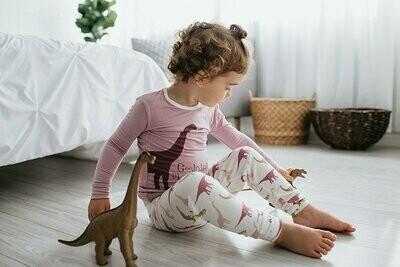 Kickee Pants L/S Pajamas- Paleontology