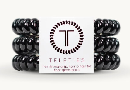 TELETIES Jet Black Small