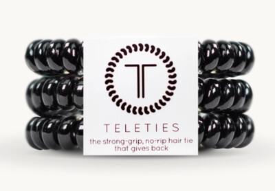 TELETIES Jet Black Small