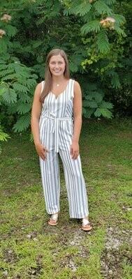 Sullivan Jumpsuit- White