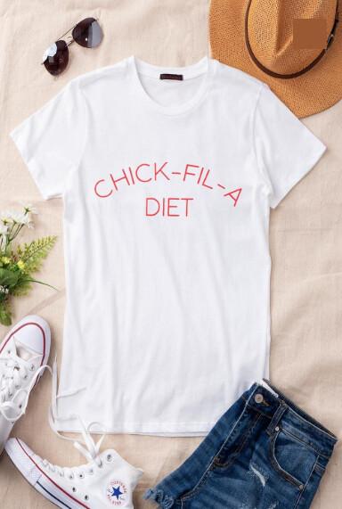 Chickfila Diet Tee