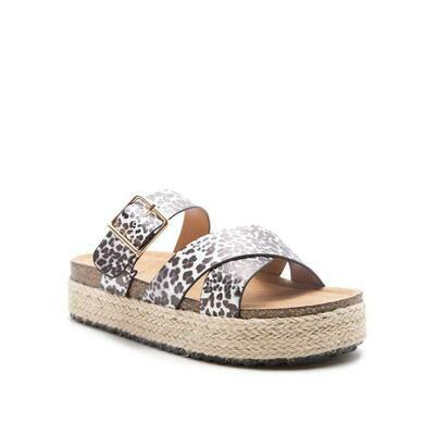 Idelisa Sandal- Leopard