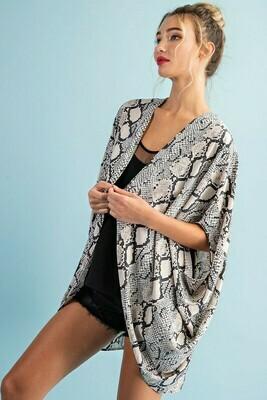 Splash Of Love Kimono