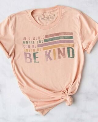 Be Kind Tee- Peach