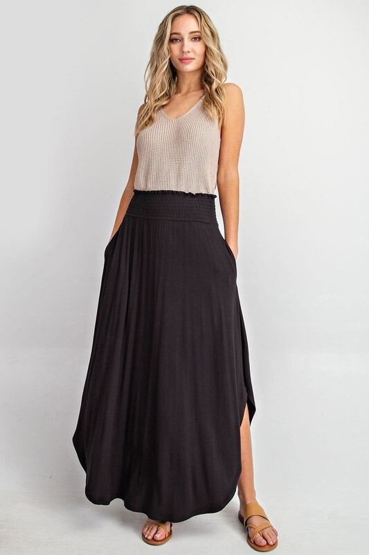 Point Of View Maxi Skirt