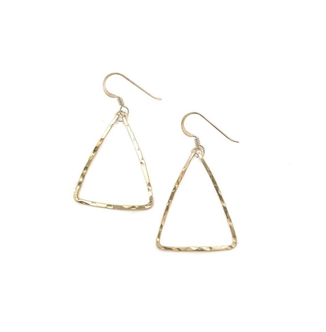 Little Fish Boateak Mast Earrings
