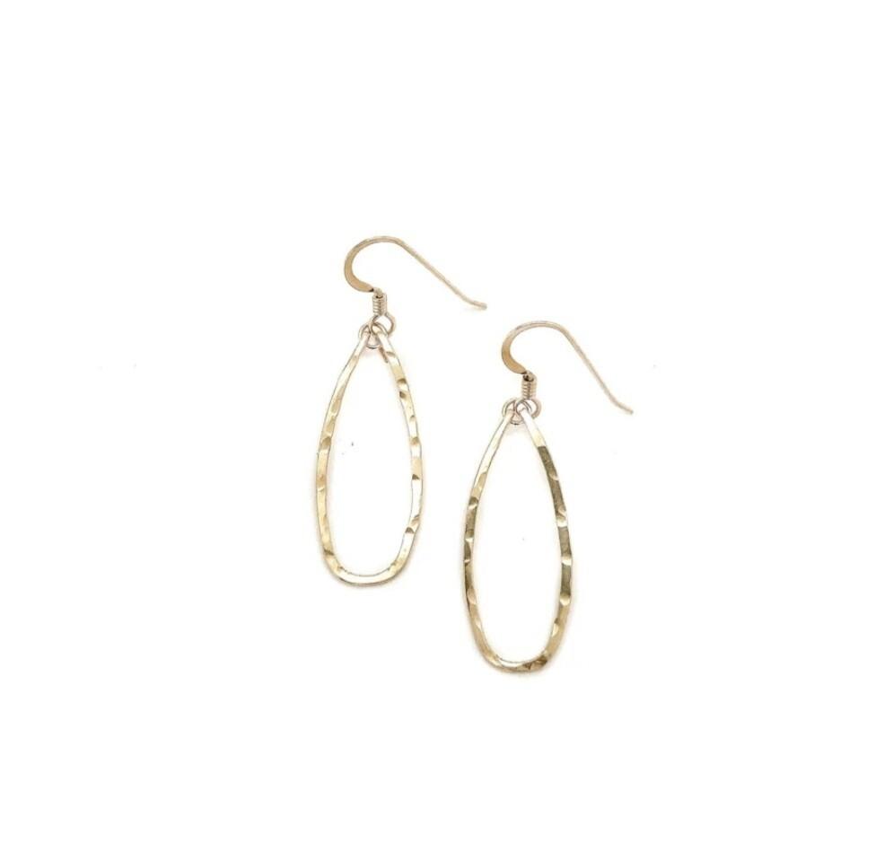 Little Fish Boateak Mini Keel Earrings