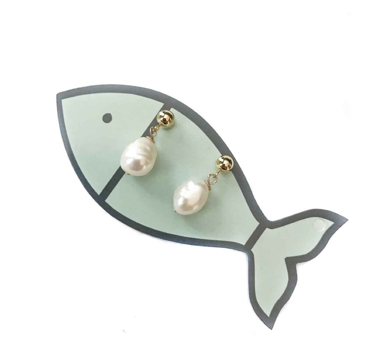 Little Fish Boateak Southern Belle Studs