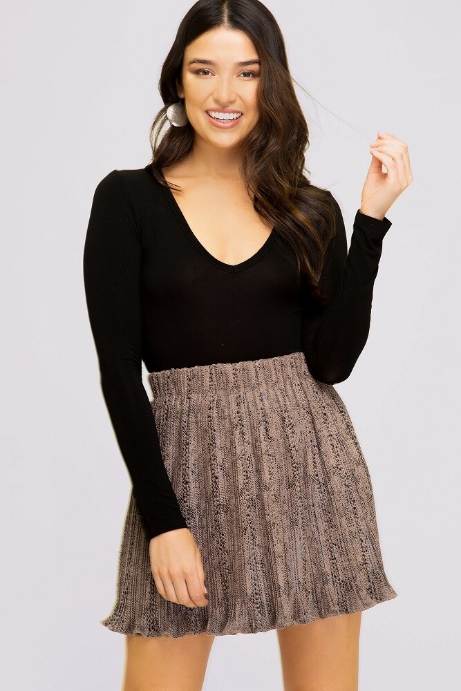 Getting Noticed Skirt