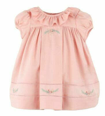 Sophie & Lucas Dusty Rose Ruffle Dress