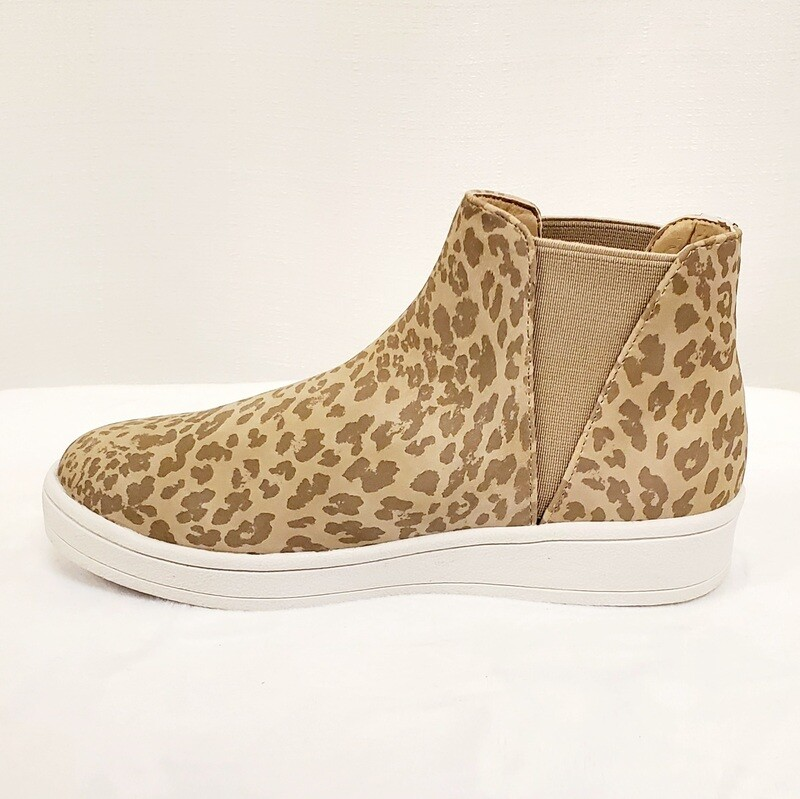 Coconuts Lil Lure Taupe Leopard (Kids)