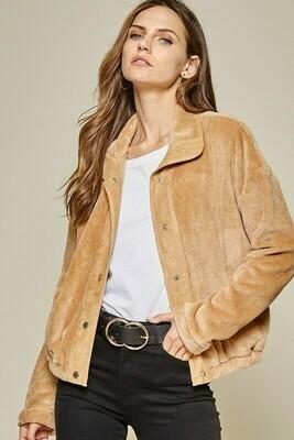 Stay Classy Jacket- Caramel