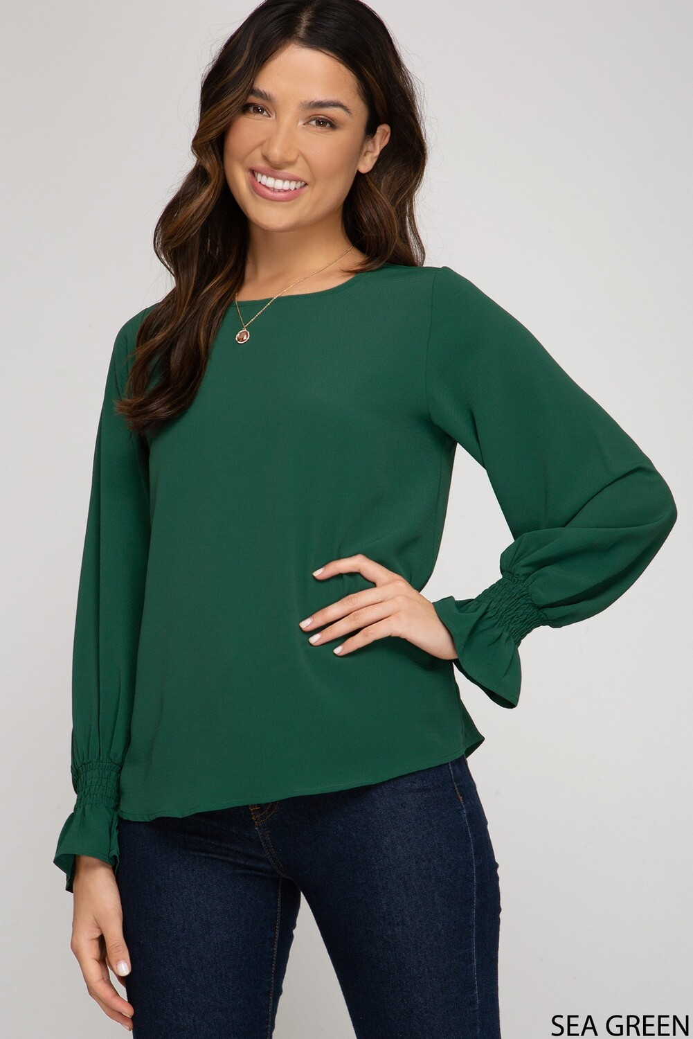 Made for This Top- Green