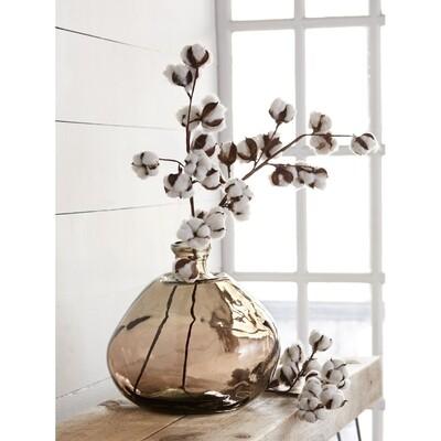 MudPie Large Brown Vase