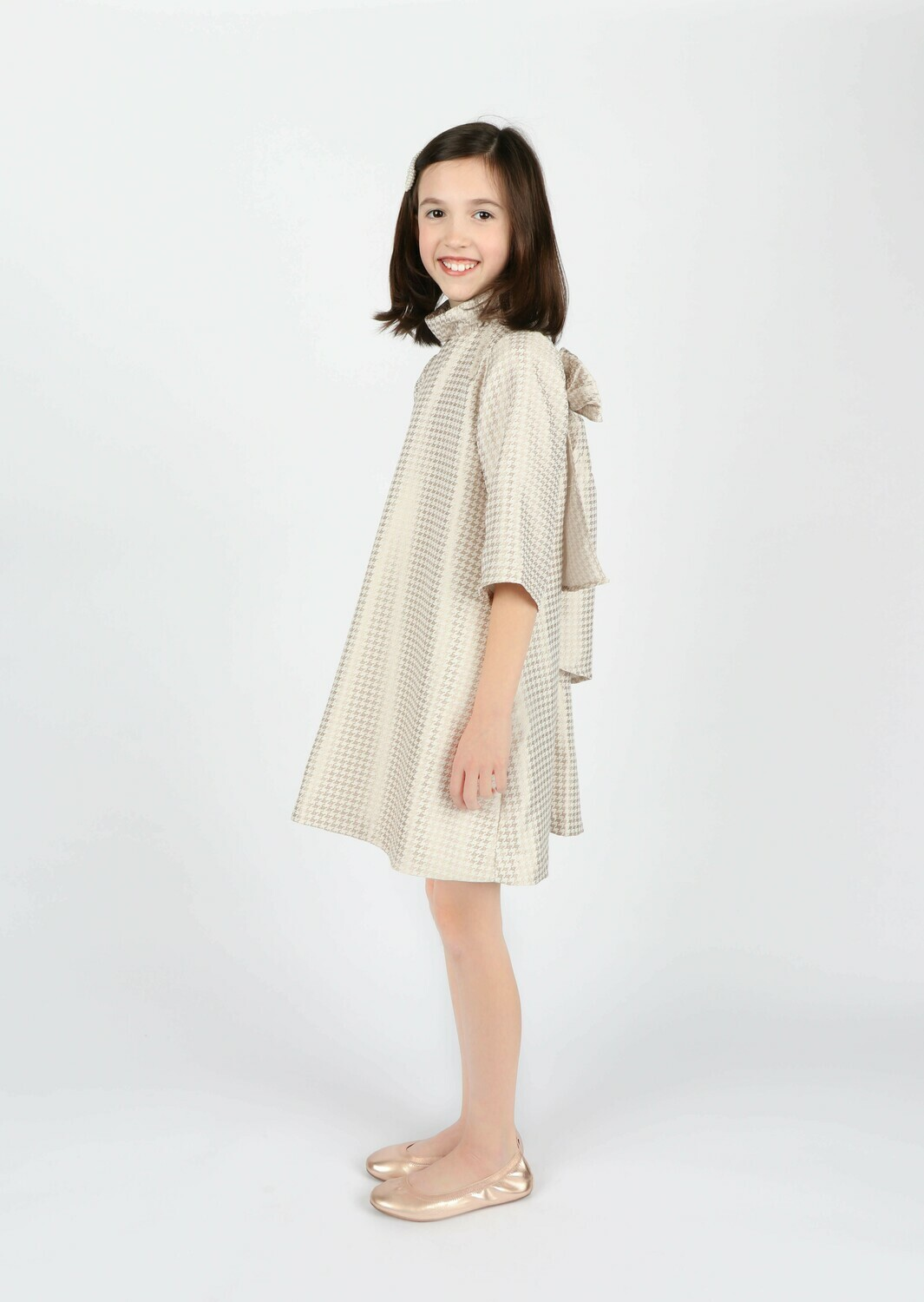 Gabby Hounds Tooth Blair Dress