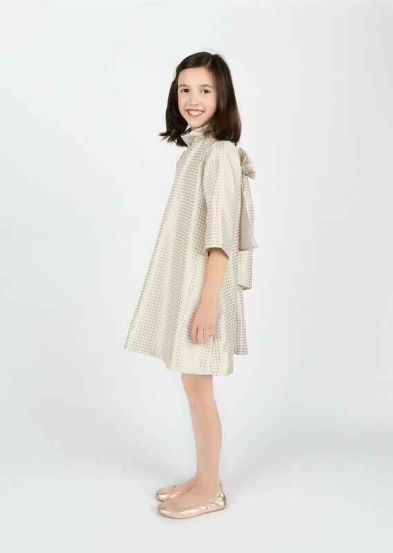 Gabby Hounds Tooth Blair Dress