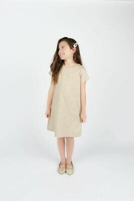 Gabby Leopard Knit Shift Dress