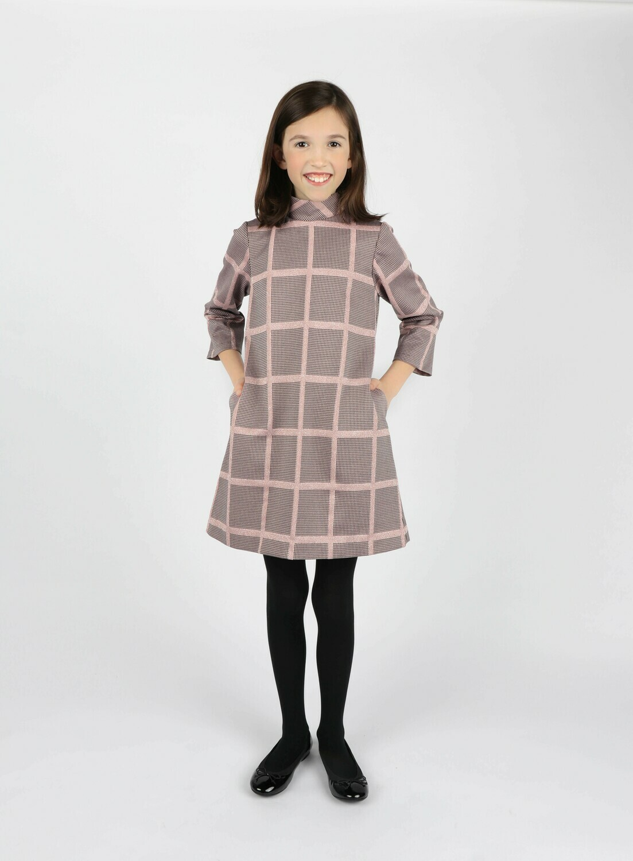 Gabby Heidi Dress- Rose
