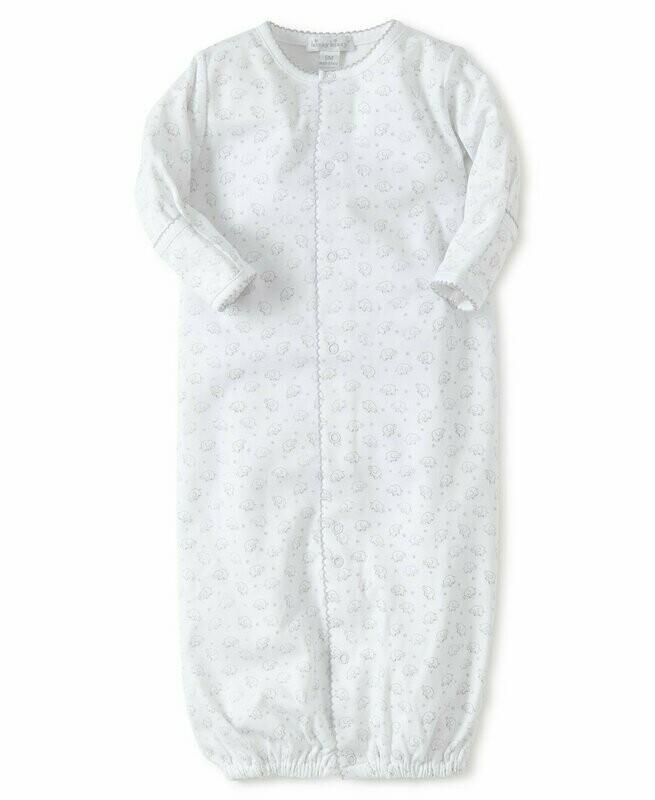 Kissy Kissy Silver Ele-fun Print Converter Gown